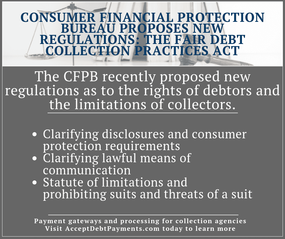 Fair Debt Collection Practices Act - New CFPB proposed regulations