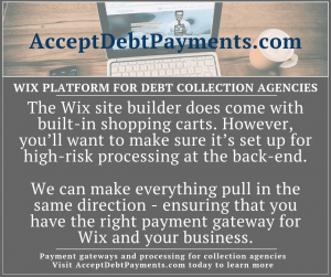 Wix debt collection - we ensure you have the right payment gateway