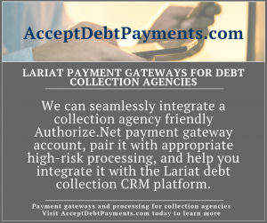 AcceptDebtPayments - LARIAT DEBT COLLECTION AGENCIES - Image 1