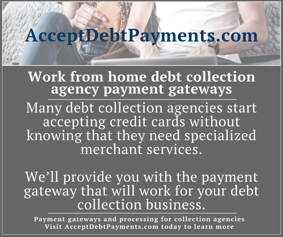AcceptDebtPayments - Work from home debt collection agency payment gateways - Image 2